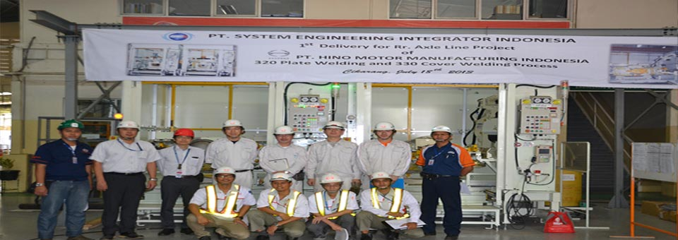 Commissioning Cover & Plate Robotic Welding Cabin