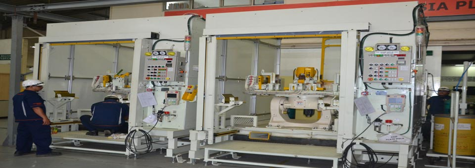 Cover & Plate Robotic Welding Cabin
